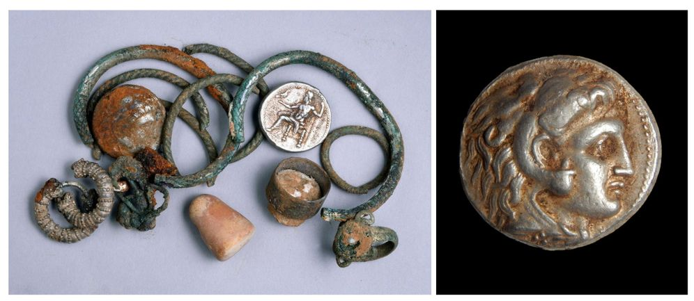 Foto: Jeques, ricos y subastas: el misterio de las extrañas monedas de Alejandro Magno. (EFE)