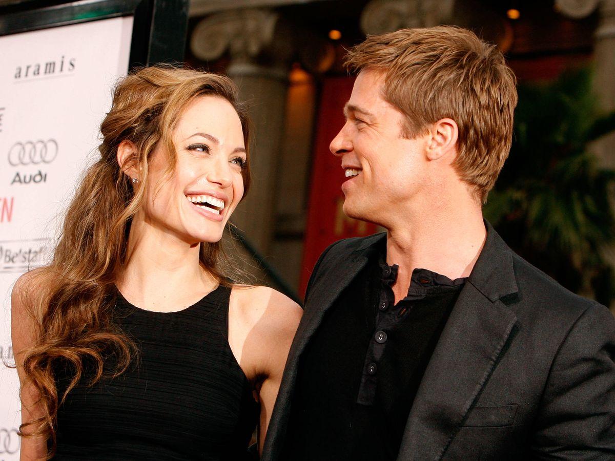 Foto:  Angelina Jolie y Brad Pitt, en una foto de 2007. (Getty)