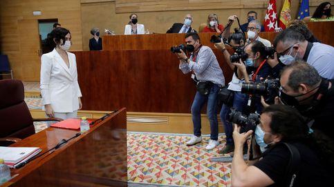 Ayuso, investida presidenta de nuevo con el apoyo de Vox tras un bronco debate