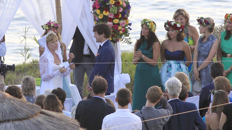 Tania Llasera, en septiembre de 2012 el día de su boda (Gtres)