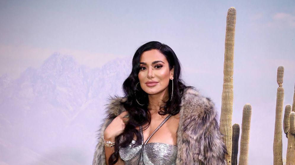 Foto: Huda Kattan en la gala The Business of Fashion. (Getty)