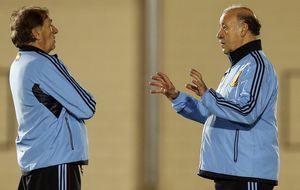 Del Bosque busca abrochar el Mundial fiado a un 'plan B'