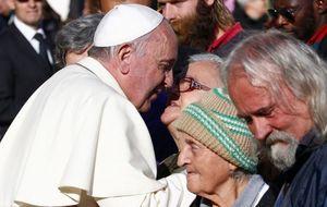 El Papa abre una peluquería gratuita para los sintecho en San Pedro del Vaticano