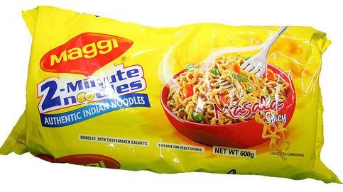Unos noodles de Maggi, retirados del mercado por exceso de plomo