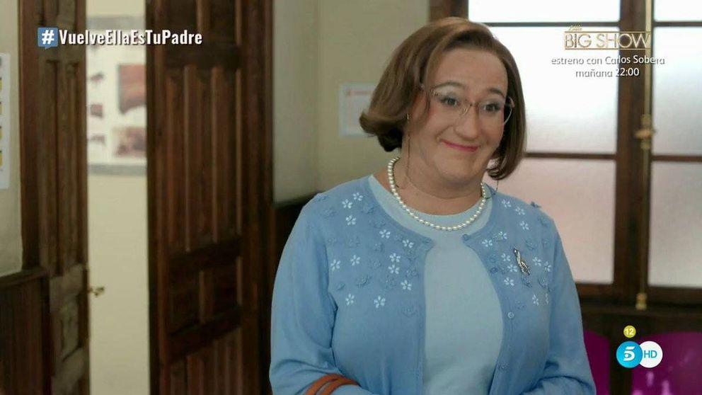 Batacazo de 'Ella es tu padre' (6,5% y 7,9%) en su regreso a Telecinco