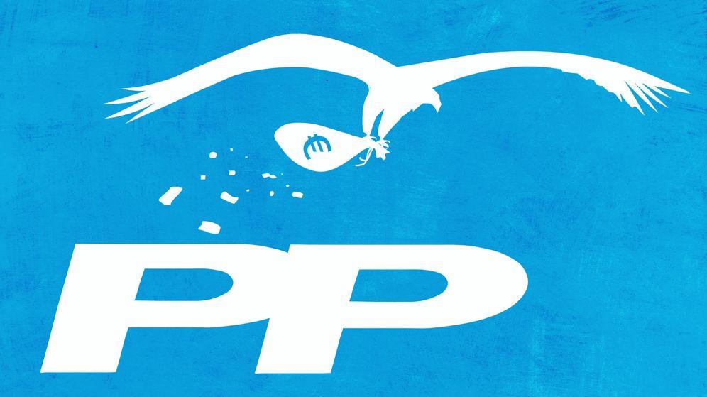 Foto: PP corrupción Ilustración: Raúl Arias.