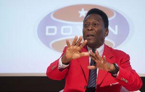 Buena evolución del estado de salud de Pelé, ya ingresado en terapia intermedia