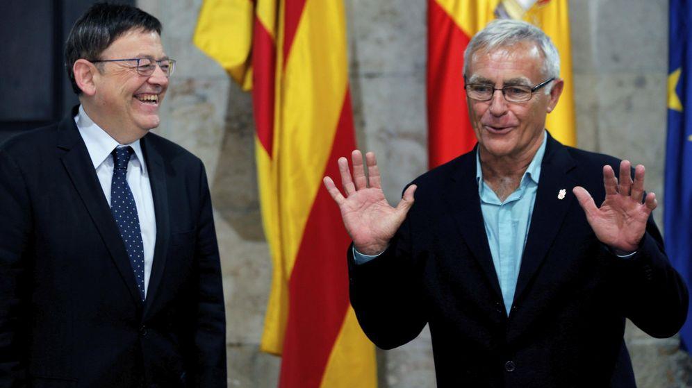 Foto: El president de la Generalitat, Ximo Puig (i), y el alcalde de Valencia, Joan Ribó. (Efe)