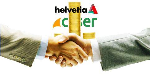 Helvetia completa una ampliación de 280 M para la compra de Caser