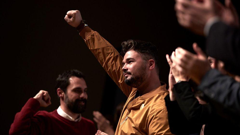 Foto: El cabeza de lista de ERC al Congreso, Gabriel Rufián. (EFE)