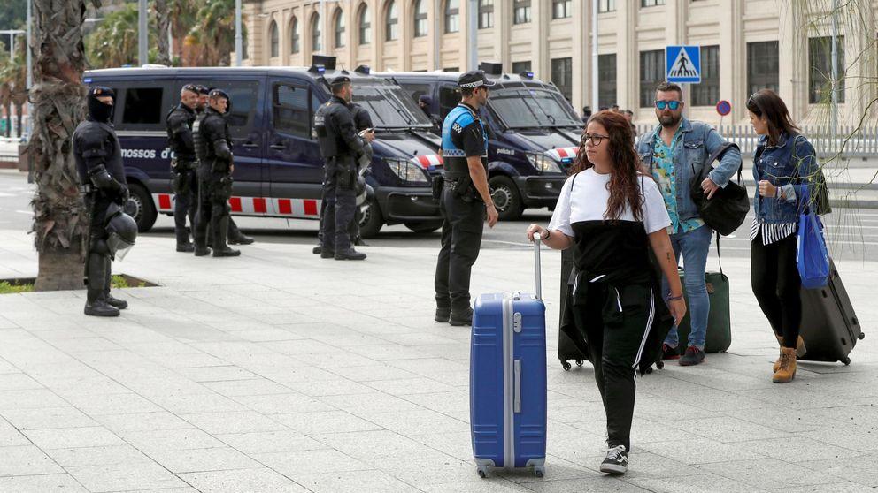 Las estancias de españoles en hoteles de Cataluña se desploma un 10,3% en octubre