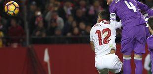 Post de El Pizjuán se ceba con Sergio Ramos, que no celebró su gol... en propia puerta