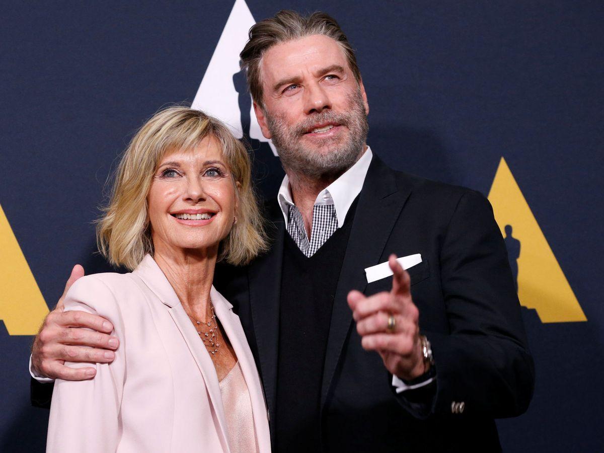 Foto: Olivia Newton-John y John Travolta, en una imagen de archivo. (Reuters)