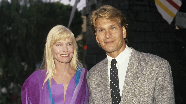 Patrick junto a Lisa Niemi, su mujer, a mediados de los 90. (Cordon Press)