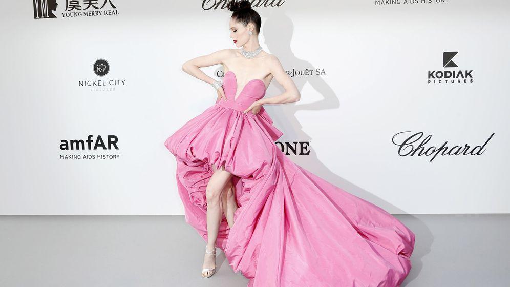 Foto: La modelo canadiense Coco Rocha posa a su llegada a la gala Cine contra el Sida, en Cannes. (EFE)