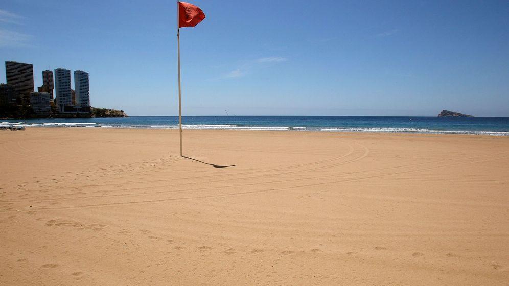 Foto: Playa de Benidorm. (EFE)