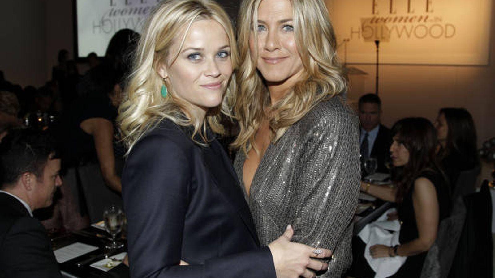 Foto: Jennifer Aniston y Reese Witherspoon, juntas de nuevo en TV.