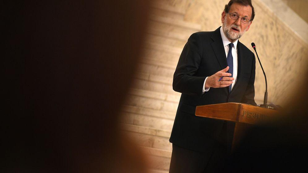 Foto: Mariano Rajoy, en Bulgaria. (EFE)