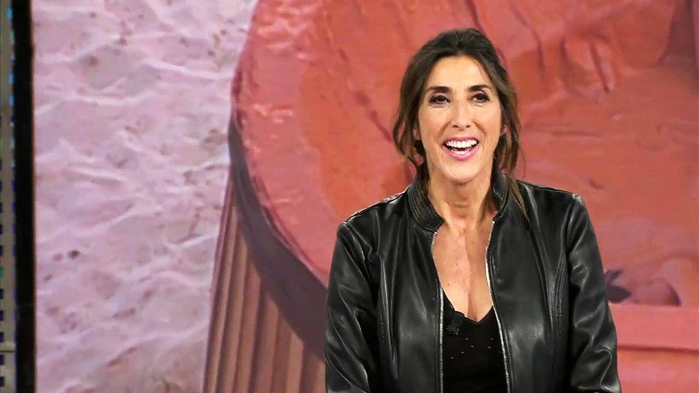 Paz Padilla y Kiko Hernández se mofan de Sandra Barneda en los pasillos de Telecinco
