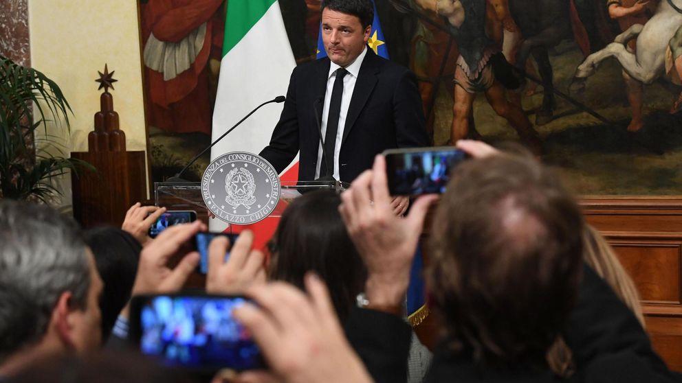 Europa tiembla tras la dimisión de Renzi y la victoria del no en el referéndum