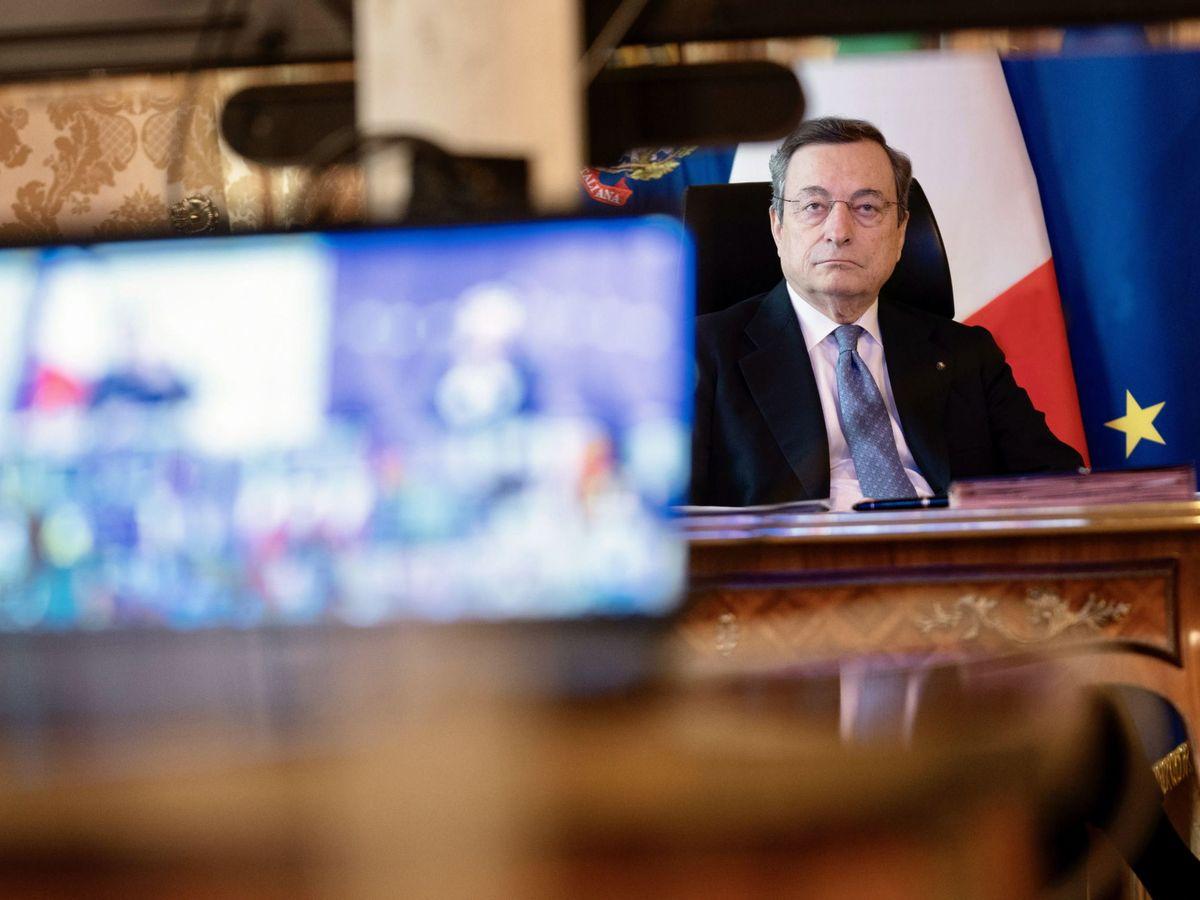 Foto: El primer ministro de Italia, Mario Draghi. (EFE)