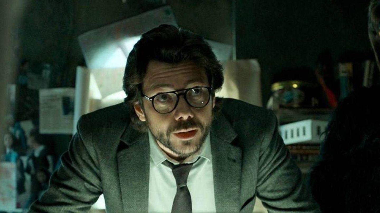 Álvaro Morte, en 'La casa de papel'. (Netflix)