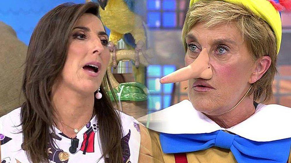 Foto: Paz Padilla echa en cara a Chelo que la critique a sus espaldas.