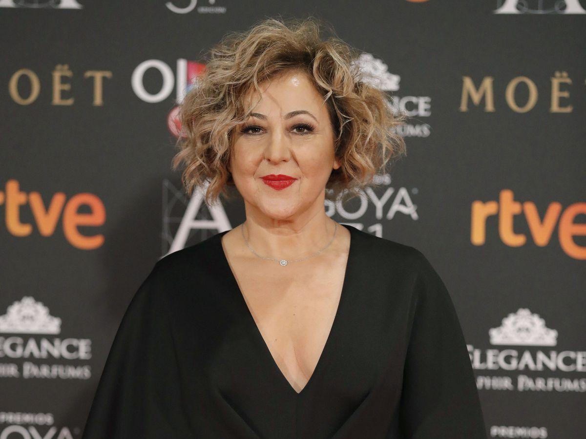 Foto: Carmen Machi, en unos Premios Goya. (EFE)