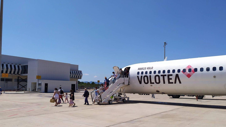Volotea opera con Aerocas un vuelo a Bilbao.