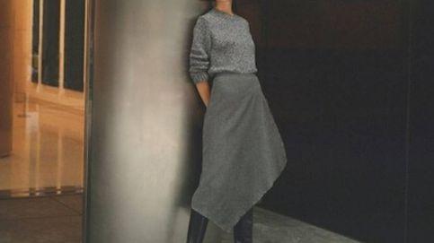 La falda gris de Massimo Dutti para combinar con todo tu armario de otoño