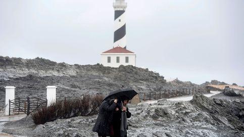 Menorca, incomunicada por mar a causa de un fuerte temporal
