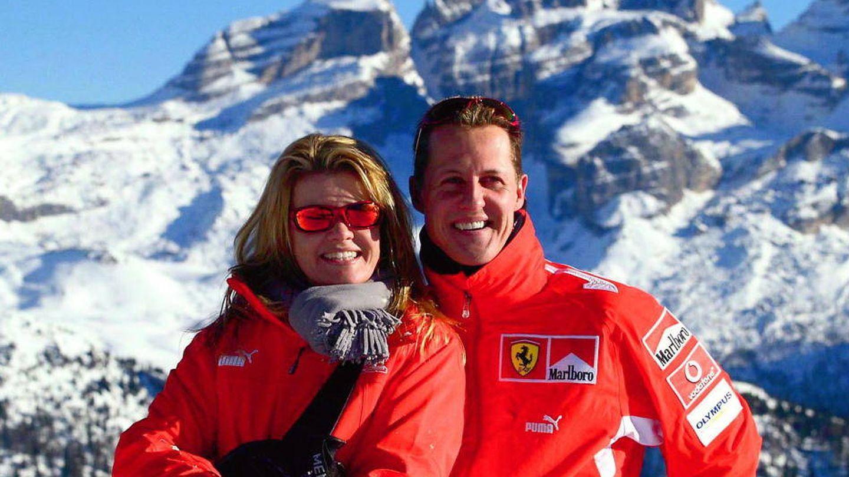 Schumacher con su mujer Corinna en una imagen de archivo (Gtres)