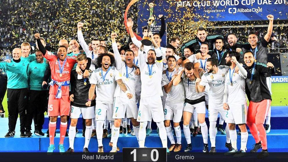 A títulos no le gana nadie: el Madrid, campeón del mundo por sexta vez