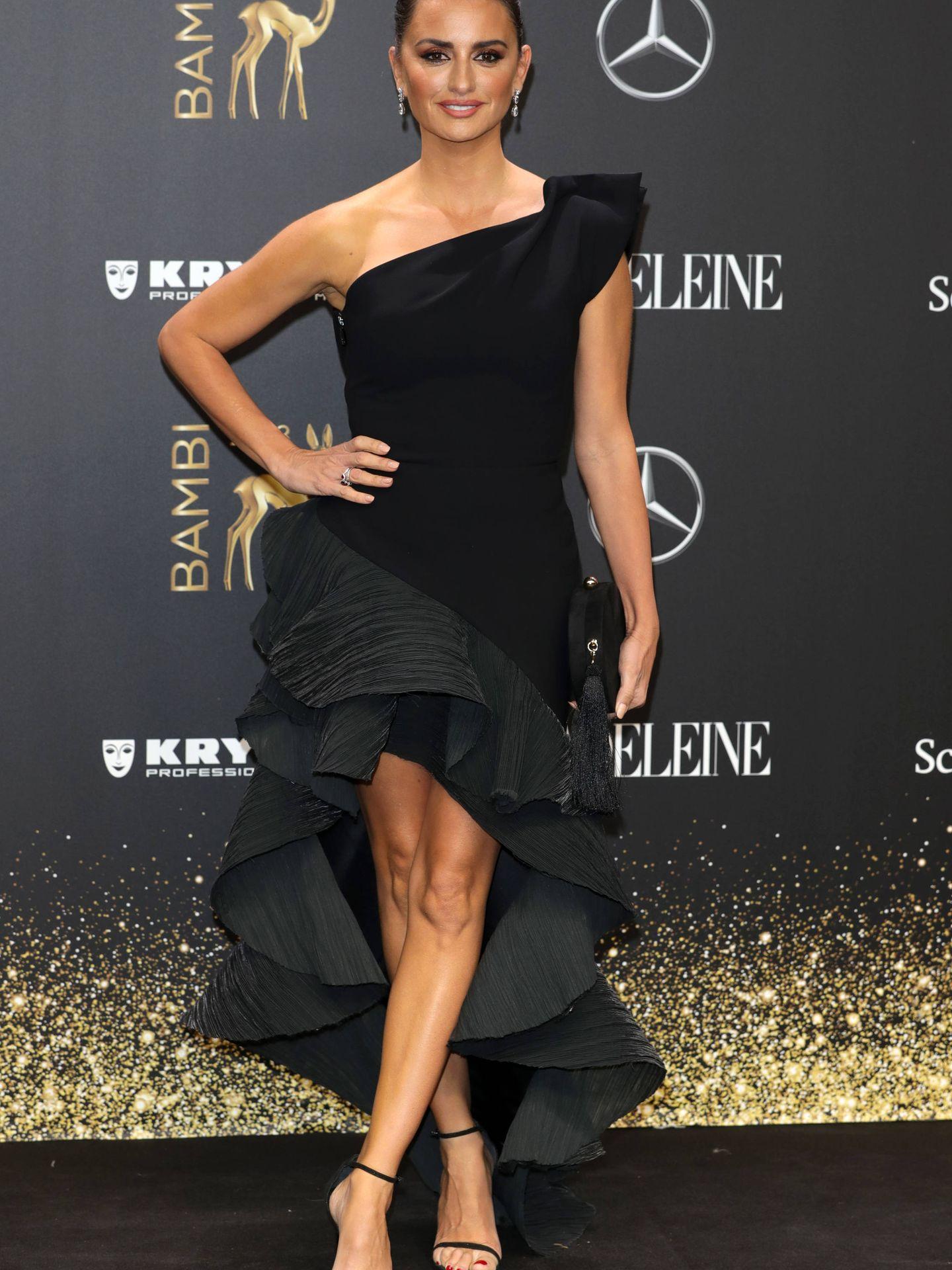 Penélope Cruz, en los Bambi Awards. (Getty)