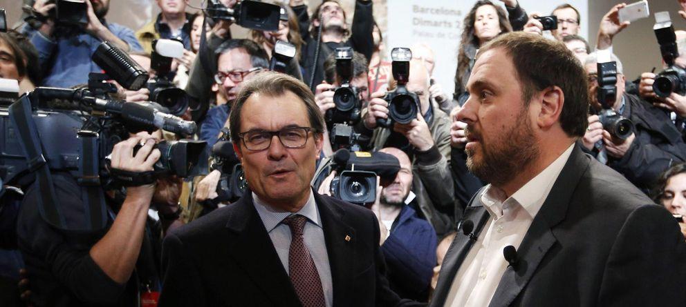 Foto: Artur Mas y Oriol Junqueras. (Reuters)