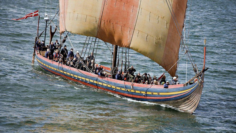 Foto: Barco vikingo Oddseund. (EFE)