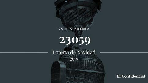 Continúa la Lotería de Navidad: el tercer quinto premio se lo lleva el 23059