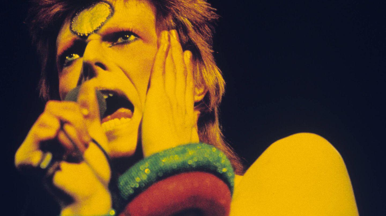 Bowie, en 1973. (Getty)