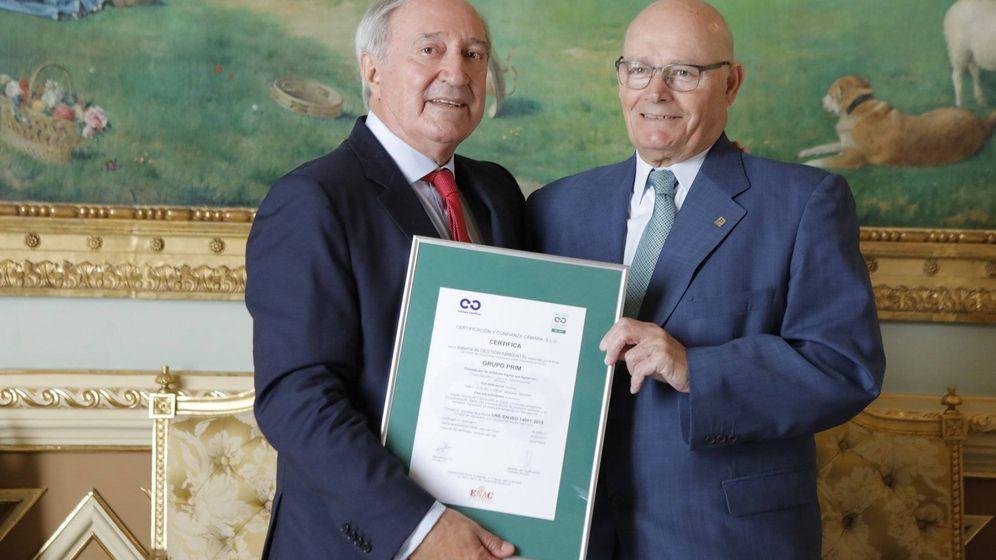 Foto: Juan Manuel López-Belmonte (i), presidente de la Cámara de Madrid.