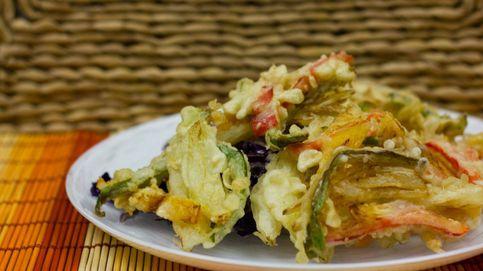 Tempura rápida de verduras: como en un japo, pero en casa
