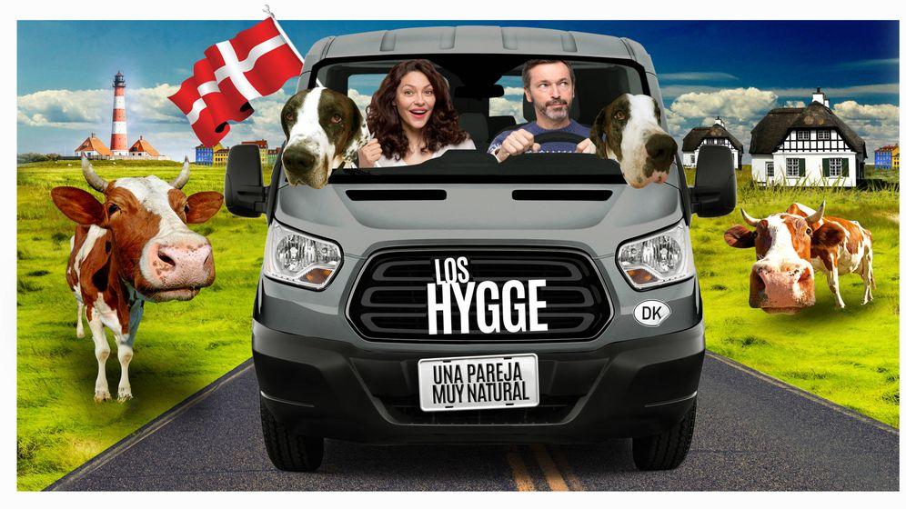 Foto: Patricia Pérez y Luis Canut en 'Los Hygge, una pareja muy natural'
