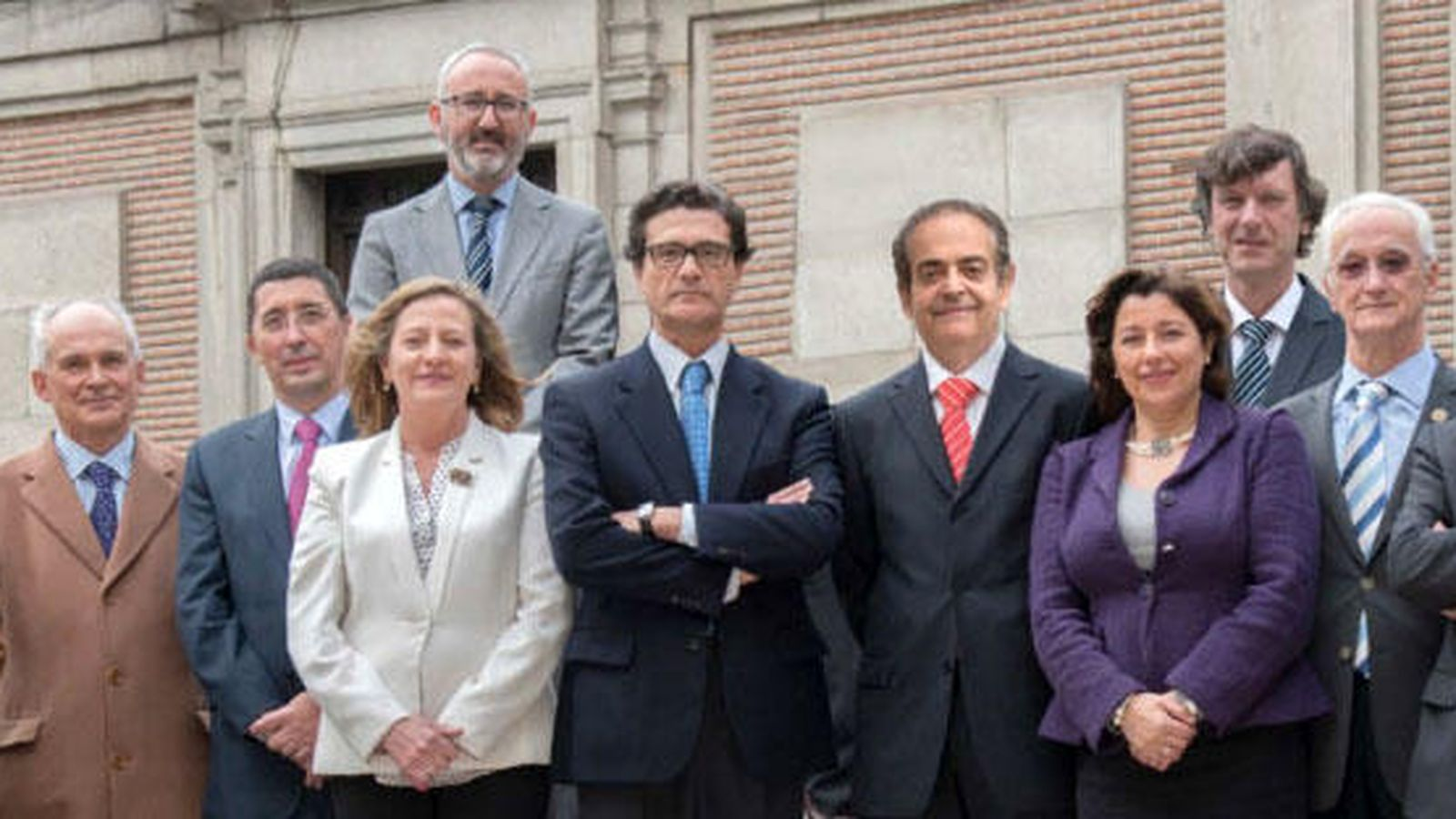 Foto: Candidatura encabezada por Pascual Fernández  (centro).