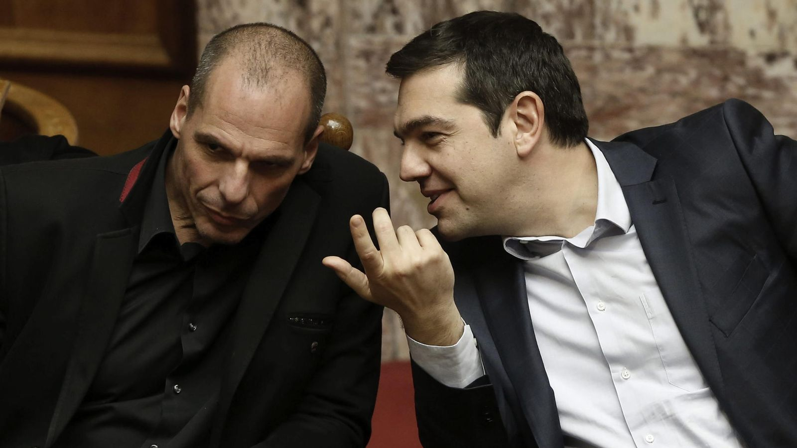 Foto: El primer ministro griego Alexis Tsipras y el ministro de Finanzas Yanis Varufakis. (Efe)
