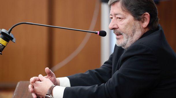 Foto: El exdirector de Trabajo Javier Guerrero durante su declaración. (EFE)