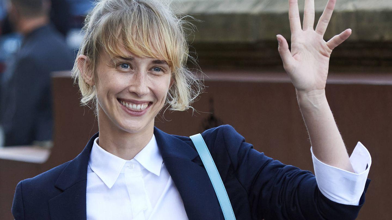 Ingrid García-Jonsson, con su habitual coleta deshecha. (Getty)