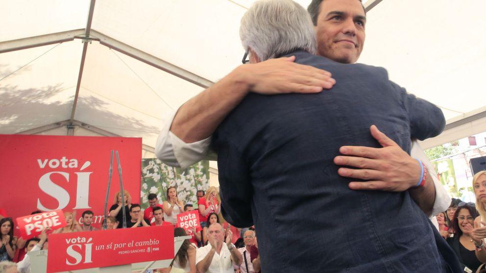 Sánchez y González sellan la paz con una comida a cuatro días del comité federal