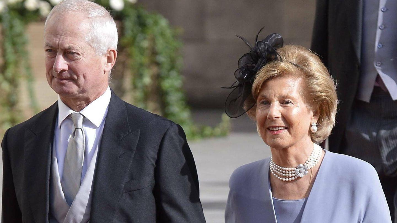 Hans Adam II y Marie de Liechtenstein en una imagen de archivo. (EFE)