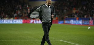 Post de El Monaco echa al Manchester City y deja a Guardiola sin semis por primera vez