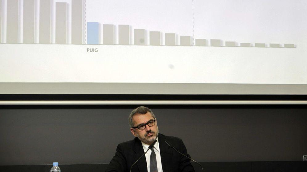 Foto: Imagen de archivo de Marc Puig, presidente del grupo Puig (EFE)