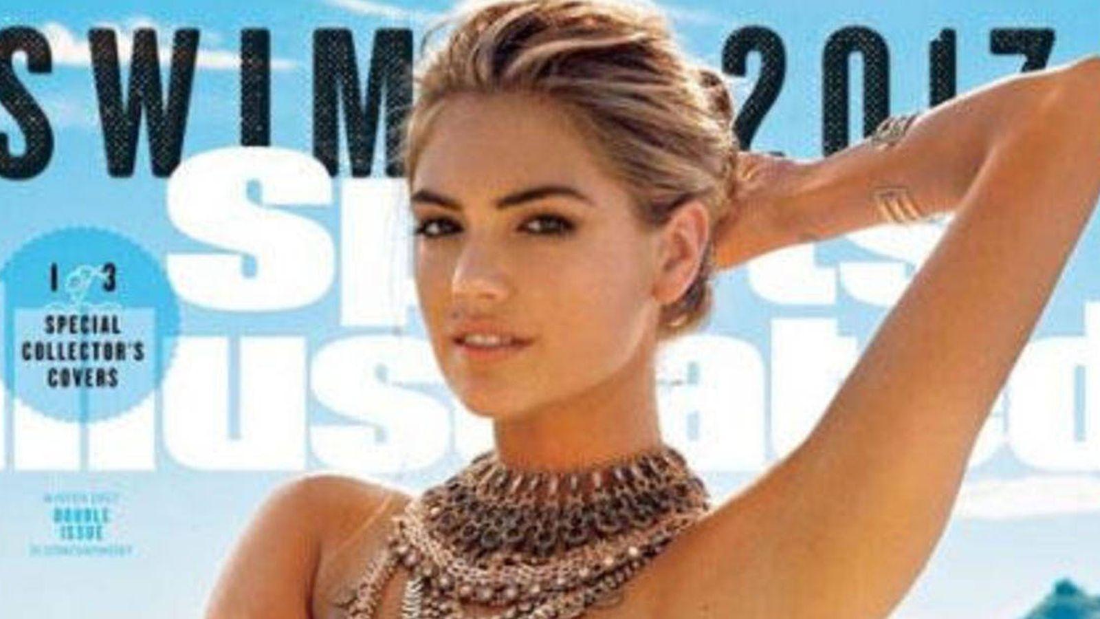 Foto: La modelo Kate Upton en lo nuevo de 'Sport Illustrated'